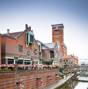Birmingham Canal at Brindley Place